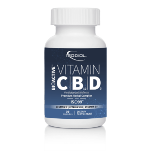 BioActive VITAMIN C|B12|D3 CAPS™